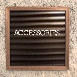 Other - Accessories Section